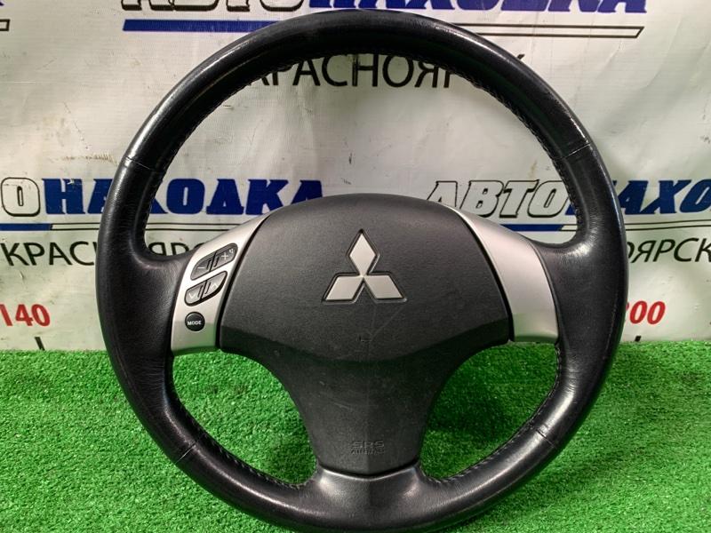 Airbag Mitsubishi Outlander CW5W 4B12 2005 водительский, с рулем, кожа, с кнопками, с подушкой, без