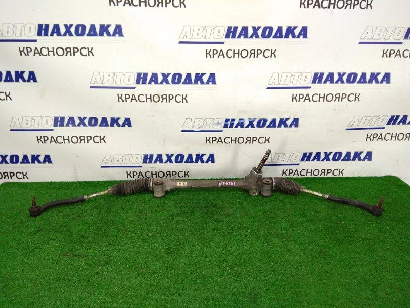 Рейка рулевая Toyota Corolla Axio NZE161 1NZ-FE 2012 ХТС, сухая, в сборе с тягами и наконечниками