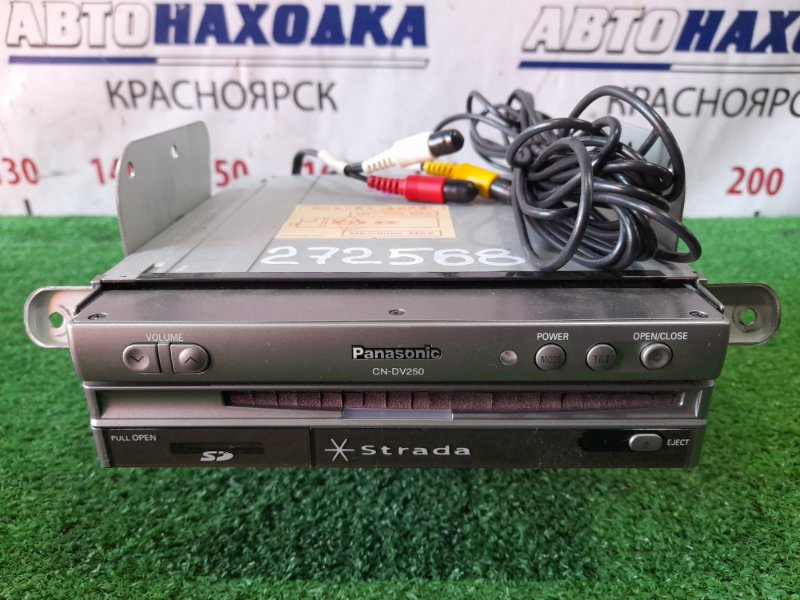 Монитор Subaru Forester SG5 EJ20 2002 CN-DV250D PANASONIC STRADA .Выдвижной монитор CN-DV250D