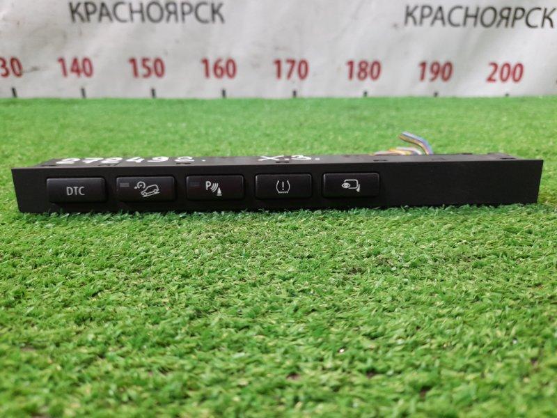 Кнопки в салон Bmw X3 E83 N52B25A 2006 блок кнопок с центральной консоли (на монитор/борт