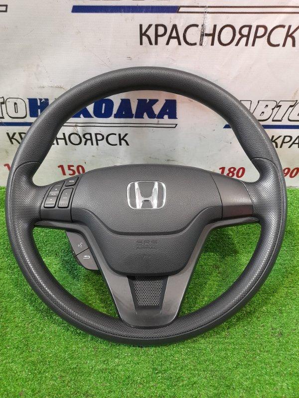 Airbag Honda Crossroad RT1 R18A 2007 водительский, с рулем, с кнопками, без патрона,