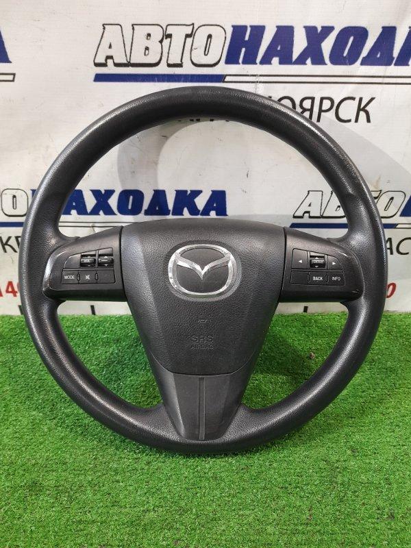 Airbag Mazda Axela BL5FW ZY-VE 2009 водительский, с рулем, с подушкой без пиропатрона, с кнопками.
