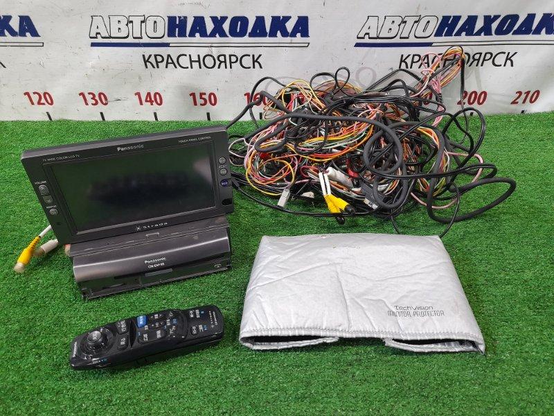 Магнитола Nissan Wingroad WFY11 QG15DE 2001 CN-DV155FD PANASONIC STRADA CN-DV155FD фишками + монитор