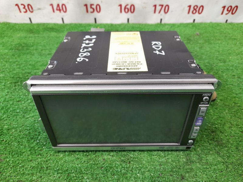 Магнитола Honda Cr-V RD7 K24A 2004 VXH-071MCV 2DIN GATHERS VXH-071MCV / DVD/NAVI, MD с фишками и креплениями