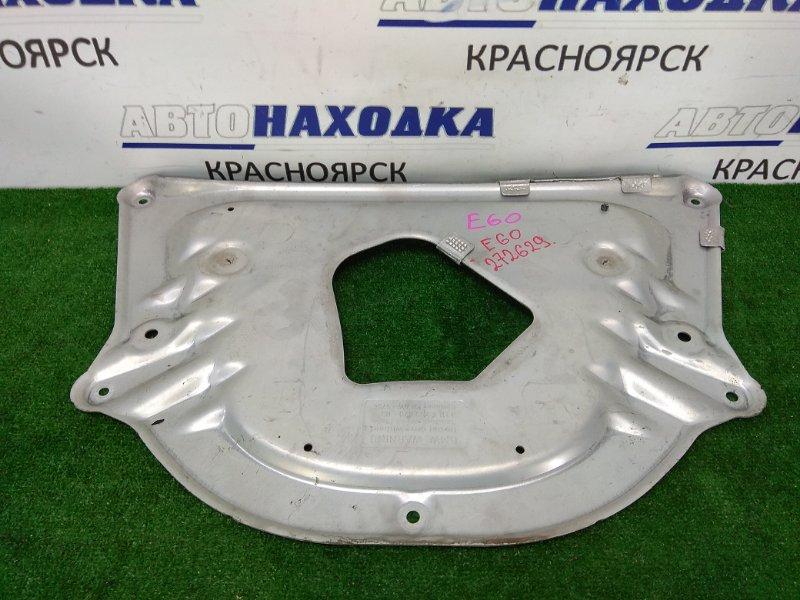 Защита двс Bmw 525I E60 N52B25 2003 алюминиевая (центральная, под ДВС) на полный привод не