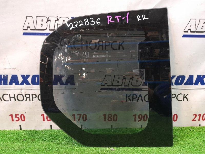 Стекло собачника Honda Crossroad RT1 R18A 2007 заднее правое правое, тонировка заводская