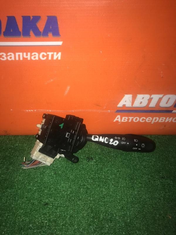 Переключатель подрулевой Toyota Bb QNC20 K3-VE 2005 одна часть под свет + туманки