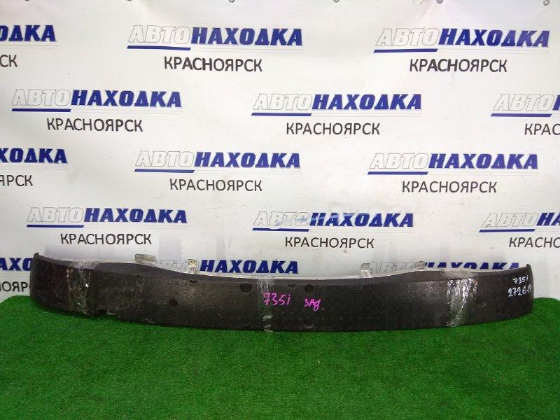 Усилитель бампера Bmw 735I E65 N62B36 2001 задний задний швеллер, алюминиевый, с пенопластом