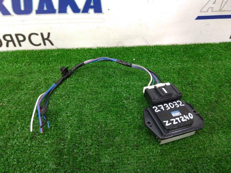 Реостат печки Toyota Allion ZZT240 1ZZ-FE 2001 499300-2121 с фишкой, 4 контакта.