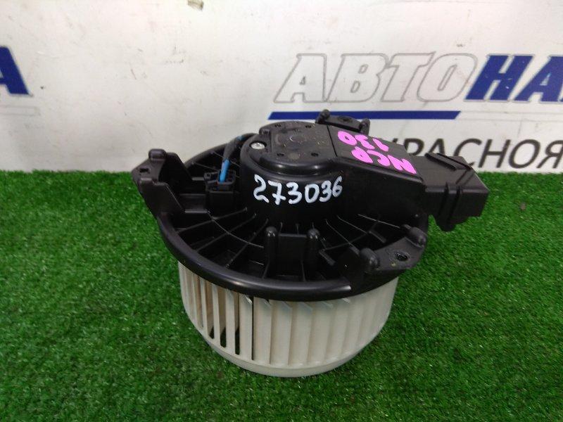 Мотор печки Toyota Vitz NSP130 1NR-FE 2010 с фишкой, 2 контакта.