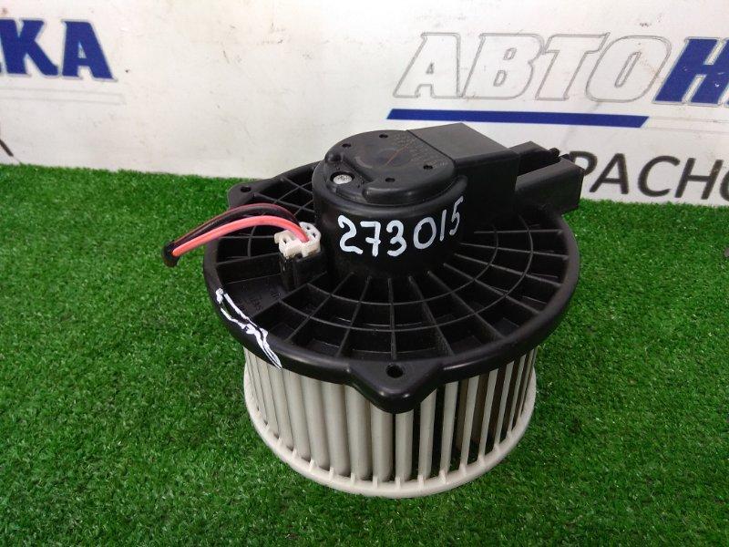 Мотор печки Mazda Cx-7 ER3P L3-VDT 2006 передний 872700-0371 правый руль, с фишкой, немного подломан