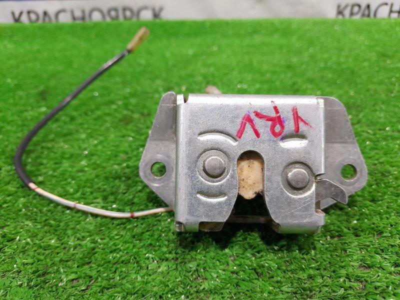 Замок багажника Daihatsu Yrv M201G K3-VE 2000 задний Замок с 5-й двери, механическая часть.
