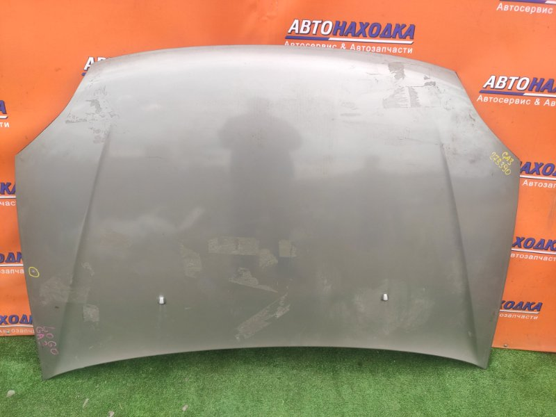 Капот Honda Logo GA3 D13B 2MOD, В ЛЕВОЙ ЧАСТИ ВЫПУКЛОСТЬ ~1СМ