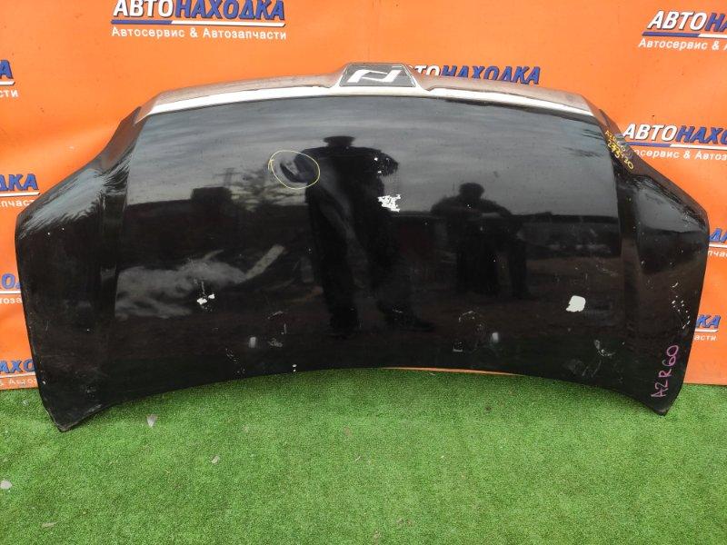 Капот Toyota Noah AZR60 1AZ-FSE K5, ПОД ПОКРАСКУ, ВМЯТИНА СЛЕВА ПО ЦЕНТРУ,