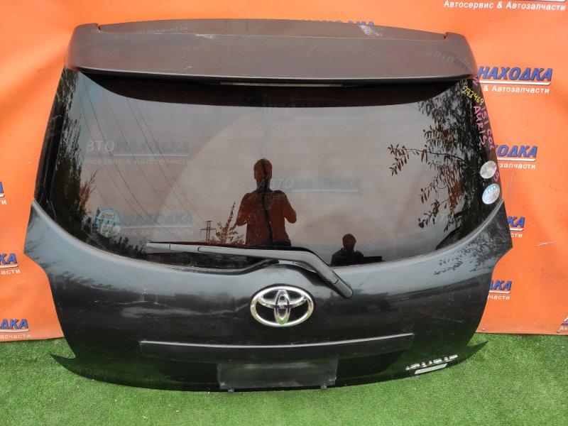 Дверь задняя Toyota Auris NZE151 1NZ-FE 06.2007 K5, +МЕТЛА, +СПОЙЛЕР,