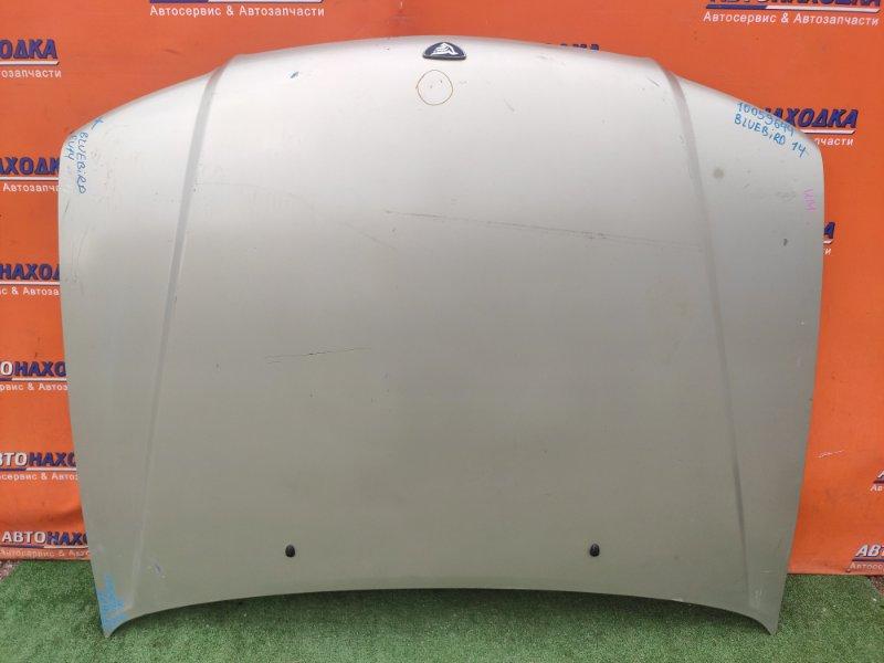 Капот Nissan Bluebird EU14 SR18DE вмятинка