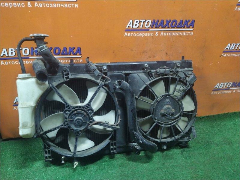 Радиатор двигателя Honda Fit GD1 L13A 2MOD, CVT, В СБОРЕ