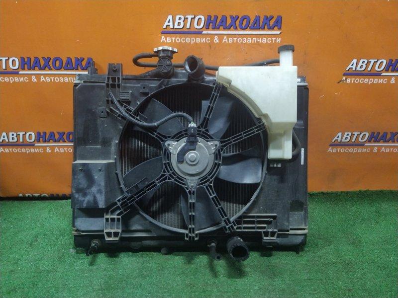 Радиатор двигателя Nissan Wingroad Y12 HR15DE CVT, В СБОРЕ. +ТРУБКИ ОХЛАЖДЕНИЯ КПП