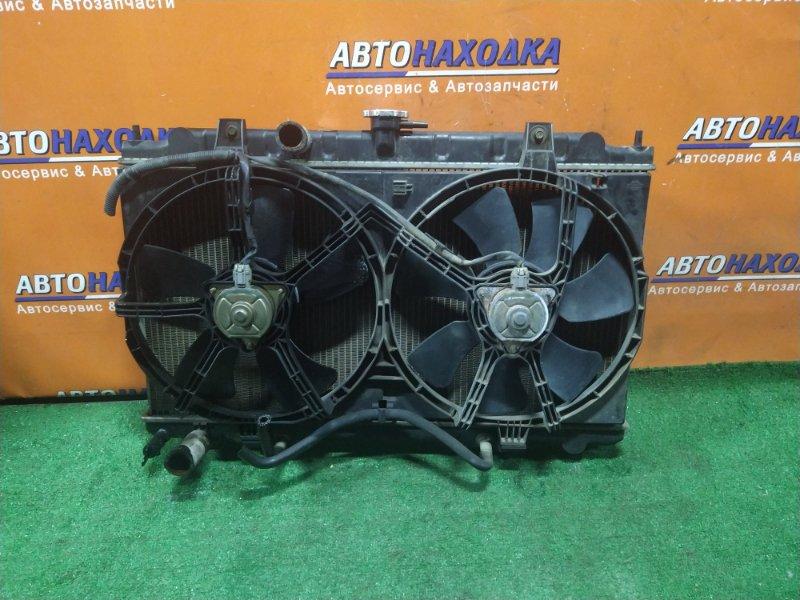 Радиатор двигателя Nissan Ad VFY11 QG15DE 08.2000 AT, В СБОРЕ