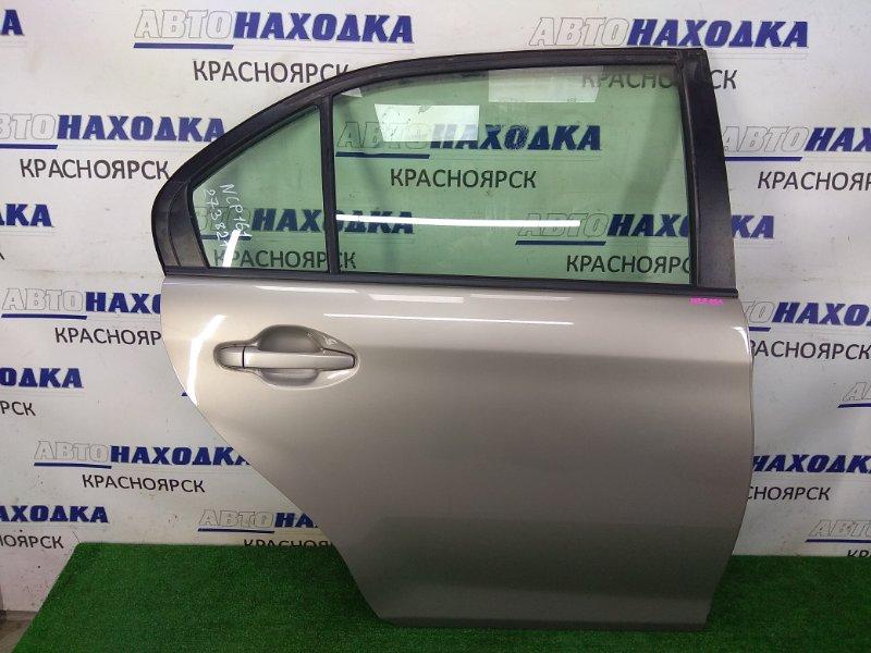 Дверь Toyota Corolla Axio NZE161 1NZ-FE 2012 задняя правая в целом ХТС, задняя правая, в сборе, серая (1J5),