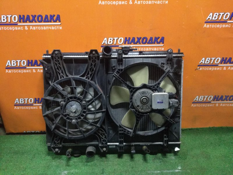 Радиатор двигателя Mitsubishi Pajero Io H76W 4G93 03.1999 AT, В СБОРЕ