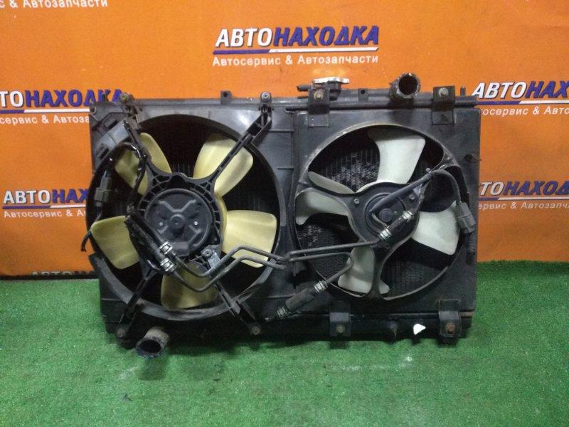 Радиатор двигателя Mitsubishi Diamante F36W 6G72 11.1997 AT, В СБОРЕ. ТРУБКИ ПОД ОХЛАЖДЕНИЕ АКПП