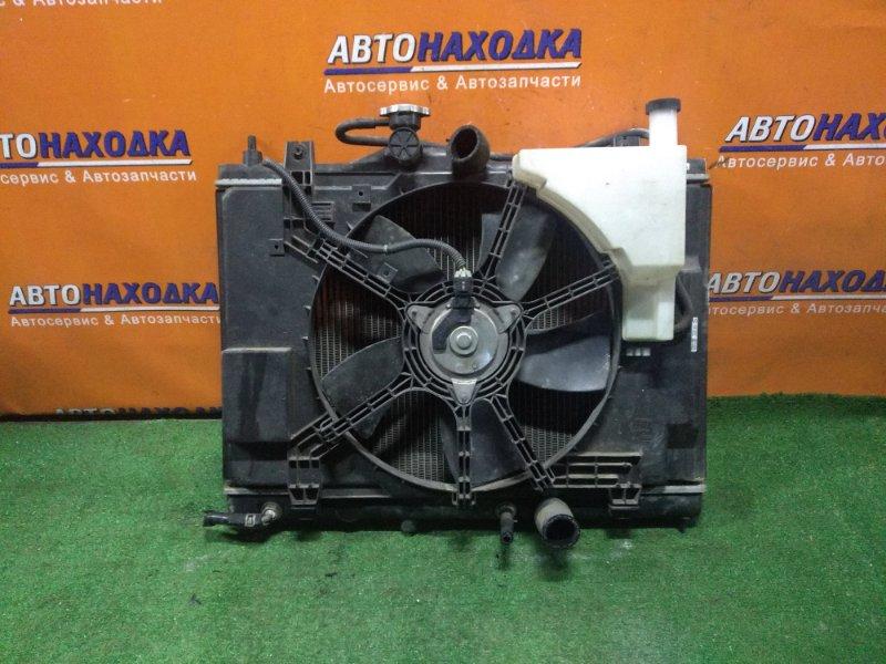 Радиатор двигателя Nissan Tiida JC11 MR18DE CVT, В СБОРЕ. +ТРУБКИ ОХЛАЖДЕНИЯ КПП