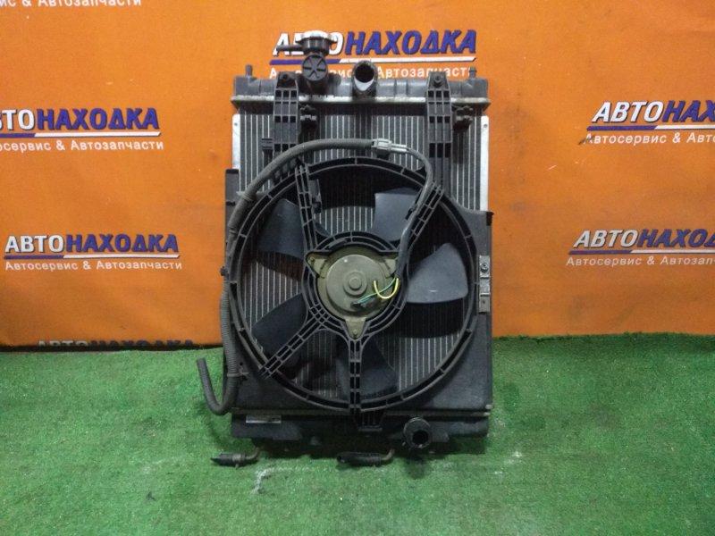 Радиатор двигателя Nissan Cube Z10 CG13DE 10.1998 AT, В СБОРЕ