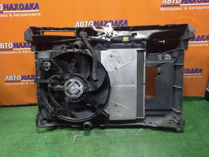 Рамка радиатора Peugeot 207 WC EP6 11.2007 в сборе с радиаторами(ОСНОВНОЙ 1330P9, КОНД 6455EK, 6455HG, ) +