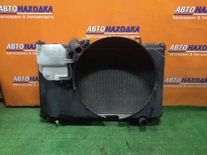 Радиатор двигателя Toyota Mark Ii GX100 1G-FE 04.1999 AT, В СБОРЕ(ДЕФЕКТ ДИФФУЗОРА)