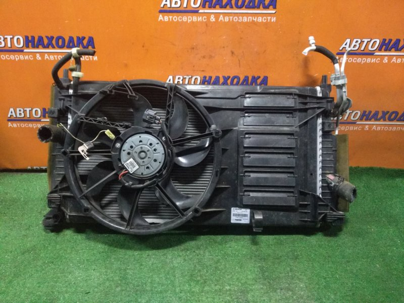 Радиатор двигателя Mazda Axela BLFFW PE-VPS БЕЗ ОХЛАЖДЕНИЯ КПП, В СБОРЕ, +КОНДИЦИОНЕР
