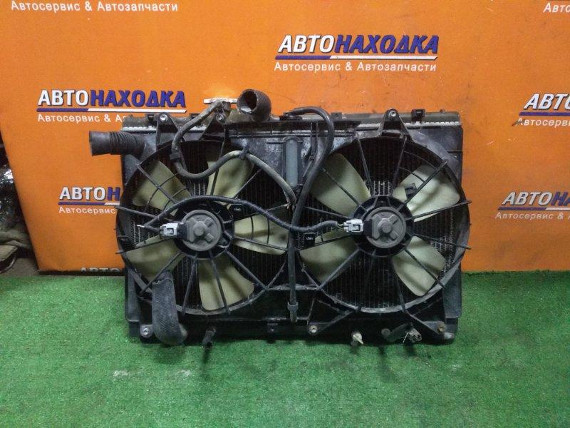 Радиатор двигателя Toyota Altezza SXE10 3S-GE 05.1999 AT, В СБОРЕ, +ДАТЧИК