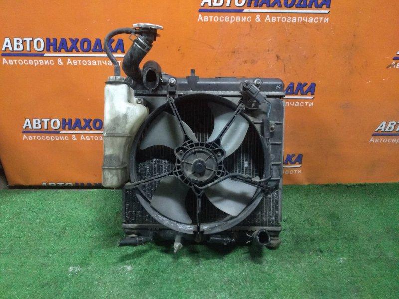 Радиатор двигателя Honda Fit GD1 L13A 1MOD, CVT, В СБОРЕ,