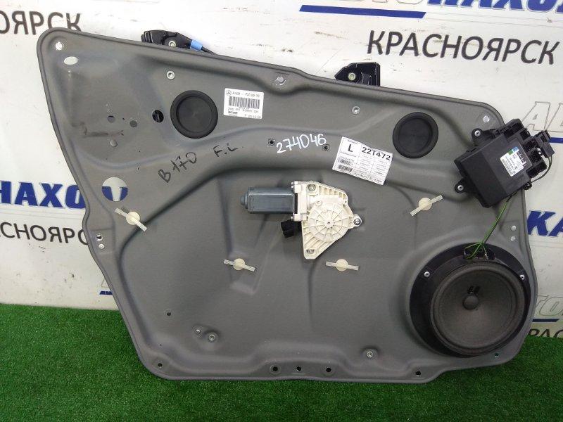Стеклоподъемник Mercedes-Benz B170 245.232 266.940 2008 передний левый передний левый, с блоком