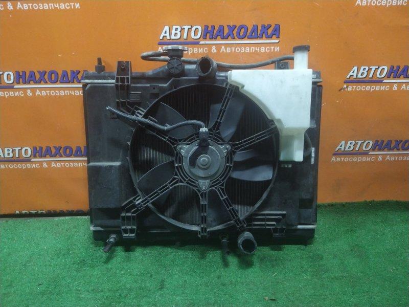 Радиатор двигателя Nissan Tiida SC11 HR15DE CVT, В СБОРЕ. +ТРУБКИ ОХЛАЖДЕНИЯ КПП