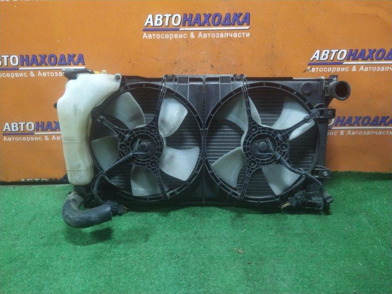 Радиатор двигателя Subaru Legacy BG5 EJ20D 05.1997 AT, В СБОРЕ