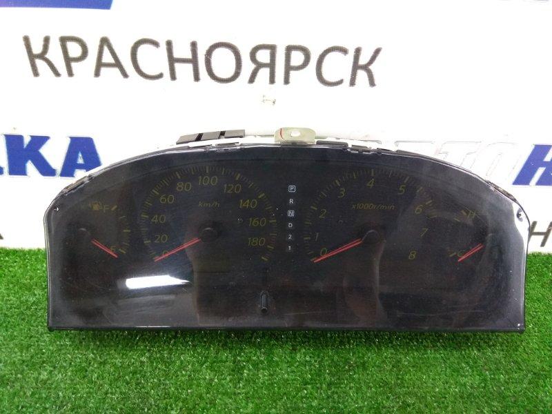 Щиток приборов Nissan Bluebird Sylphy QG10 QG18DE 2003 6N662 оптитрон, 2 модель, АКПП, с фишками, пробег