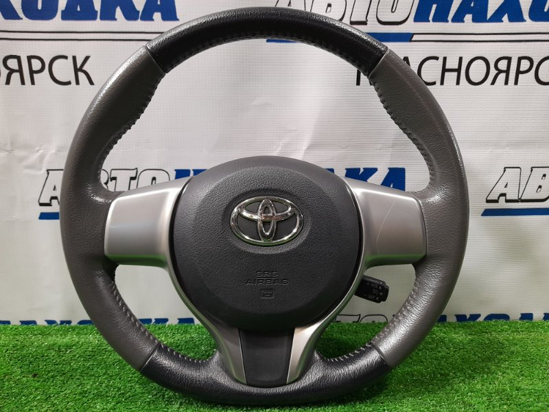 Airbag Toyota Ractis NCP120 1NZ-FE 2010 Водительский, без заряда, с подушкой, с рулем, кожа, с