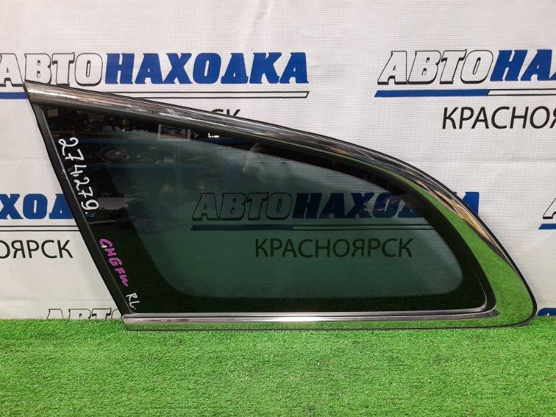 Стекло собачника Mazda Atenza GHEFW LF-VD 2010 заднее левое Левое, заводская тонировка, с