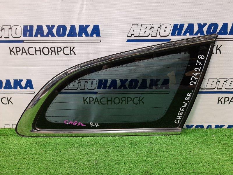 Стекло собачника Mazda Atenza GHEFW LF-VD 2010 заднее правое Правое, заводская тонировка, с