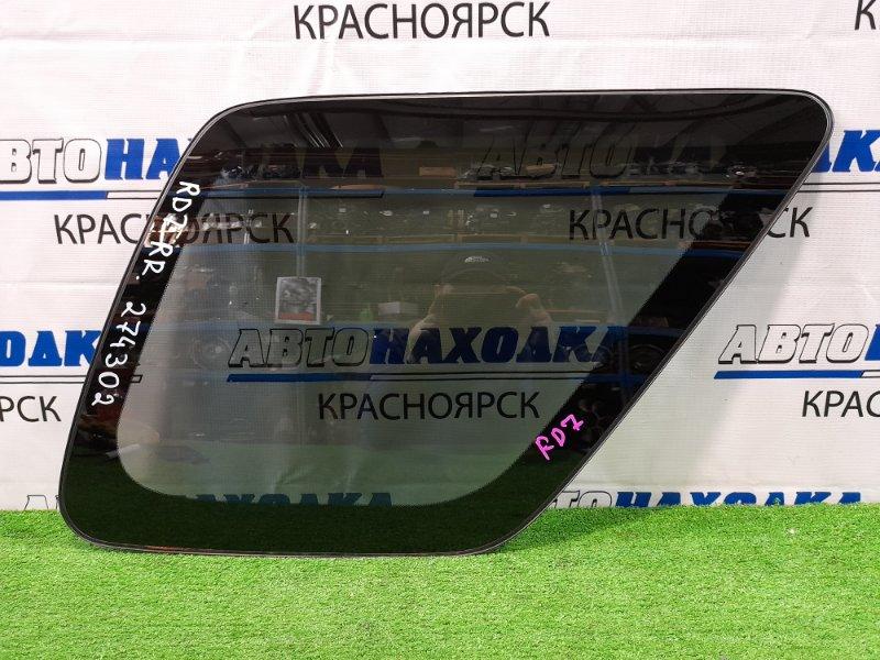 Стекло собачника Honda Cr-V RD7 K24A 2004 заднее правое Правое, заводская тонировка, с