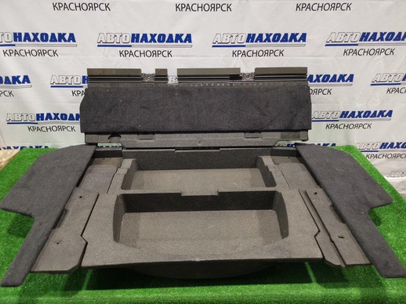 Пол багажника Subaru Legacy Outback BP9 EJ25 2003 комплект: центральный ящик без верхней крышки+
