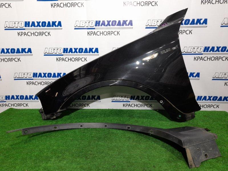 Крыло Bmw X3 E83 N52B25A 2006 переднее левое FL с накладкой, поворотником, и клипсой, цвет 475. Есть