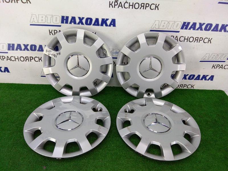 Колпаки колесные Mercedes-Benz B170 245.232 266.940 2008 комплект 4 штуки, оригинал, R16, 2 шт. - ХТС, 2 шт.