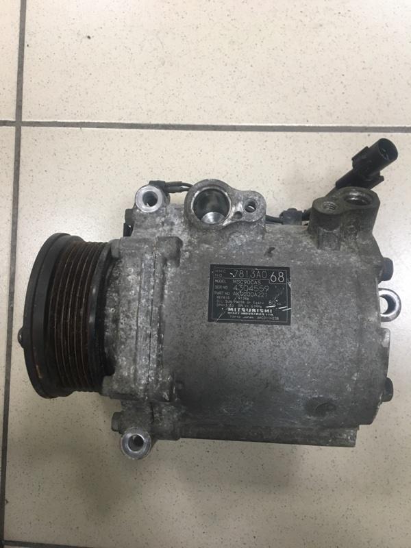 Компрессор кондиционера Mitsubishi Lancer X CY4A 4B11 2007 7813AO, 4304559