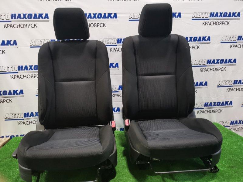 Сиденья Mazda Axela BL5FW ZY-VE 2009 передняя Передние, пара, ХТС. С механическими регулировками.