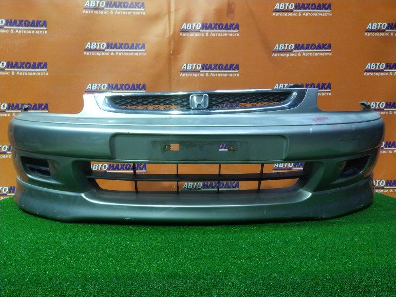 Бампер Honda Logo GA3 D13B передний 71101-S50Z-E000 3MOD, +РЕШЁТКА, +ГУБА, +ЗАГЛУШКИ, КРАСКА ВЫГОРЕЛА