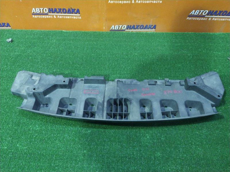 Защита двс Nissan Tiida Latio SC11 HR15DE 04.2005 передняя 62663-ED000 ПОД БАМПЕР