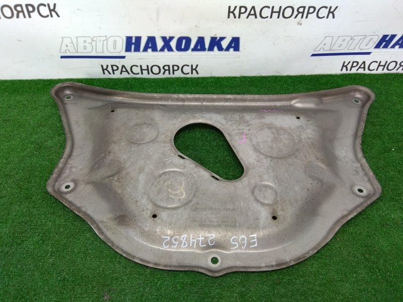 Защита двс Bmw 735I E65 N62B36 2001 алюминиевая