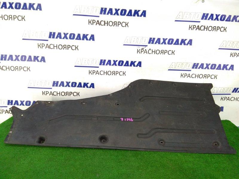 Защита Bmw 735I E65 N62B36 2001 правая защита днища, пластиковая, правая (большая)